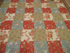New Queen Quilt Set with Pillow Shams - Country Floral