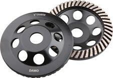 5-Inch Diamond Turbo Grinding Cup Wheel for Concrete / Granite Floor