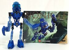 Lego Bionicle 8533 Toa Mata Gali Complete Figure with Instruction Book