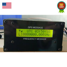 Gpsdo Gps Colck 10m Withlcd Display Frequency Message Disciplined Oscillator Usa