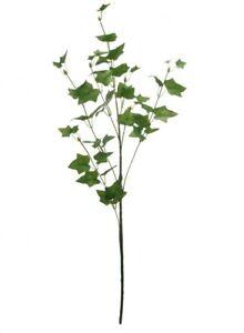 Artificial flowers ivy stem Spray deep Green Wedding Craft 90 Cm Height