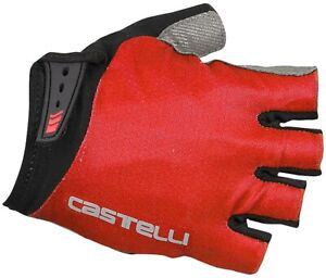 Castelli Entrata Cycling Gloves - Red