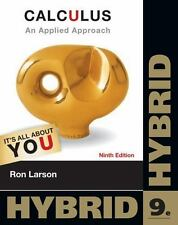 Cengage Learning's New Hybrid Editions!: Calculus : An Applied Approach, Hybrid