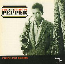 ART PEPPER - THE ARTISTRY OF PEPPER (1992 US JAZZ CD REISSUE)