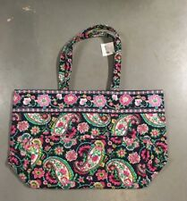 f51154a57 New Vera Bradley Grand Tote Petal Paisley Quilted Purse Handbag Extra Large  NWT
