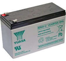 Yuasa REW45-12 12V 45W High Rate Discharge Lead Acid Rechargeable SLA Battery