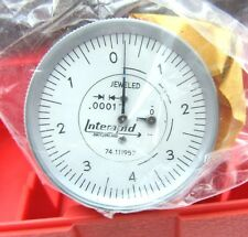 NEW! INTERAPID 312B-3V VERTICAL TEST INDICATOR ONLY .0001 .016 0-4-0