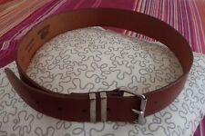 ceinture cuir CREEKS ancien rare MADE IN ENGLAND 75/30 année 1990 accessoire