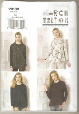 Vogue Sewing Pattern V9130 Marcy Tilton Miss Pullover Top Sz 16-26