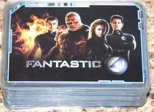 Fantastic Four 4 Movie Celz by Cards Inc 2005. 60 cards + 12 Holo cards.