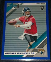 2019 Donruss Gardner Minshew II Blue Press Proof Rookie Card SP RC JAGUARS 🔥
