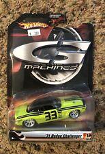 2006 Hot Wheels 71 Dodge Challenger G Machines