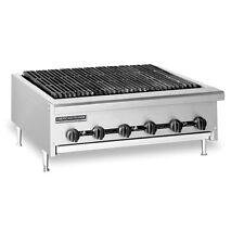 American Range AERB-48, Radiant Type 48 inch Gas Charbroiler, Full Width Grease