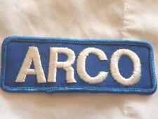 ARCO Rectangular-Shaped Gasoline Cloth Vintage Patch (#1811)