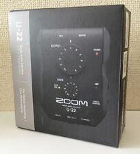NEW ZOOM Handy audio interface U-22 From JAPAN