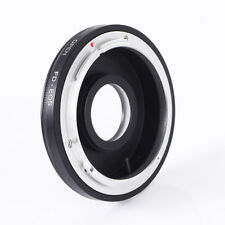FD/FL Lens Mount Adapter With Glass to Canon EOS EF 7D II 5DIII 750D 760D 1200D