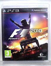 FORMULA 1 2010 - PLAYSTATION 3 - CD FISICO - PAL ESPAÑA