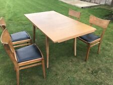 Vintage Teak G Plan Extending Dining Table and 4 chairs