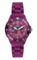 s.Oliver Kinder Uhr Armbanduhr SO 2595-PQ Pink Beere Schmetterling Mädchen Damen