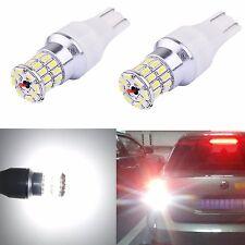 Alla Lighting 2x 3014 36-SMD 921 912 Super White LED Bulbs Back Up Reverse Light
