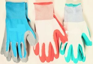 BBH Gardening Gloves - Latex foam / Polyester 10 pack