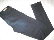 H&M Jeans Hose Gr. 164 dunkel blau Slim Fit SKINNY Zipper wie NEU