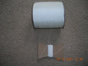 PELLA  String - Cord Color White for Raise & Lower PLUS Pleated Shades  !00 FT