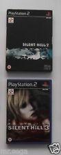"""Silent Hill 2 & Silent Hill 3 für Playstation 2 sehr selten und schwer zu finden"""""""