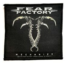 FEAR FACTORY   ( mechanize ) OFFICIAL WOVEN  PATCH