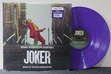'JOKER' Soundtrack Hildur Gudnadottir Ltd. Edition PURPLE Vinyl LP NEW/SEALED