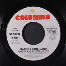 BARBARA STREISAND: Shake Me, Wake Me / Short 45 (dj) Vocalists
