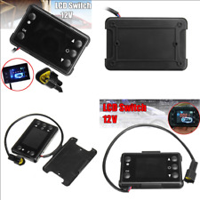 12V Car Track Air Diesel Heater Parking Heater Controller Switch  LCD Monitor