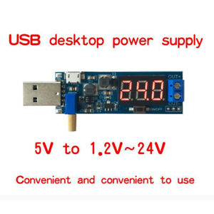 Easy DC-DC USB Step UP/Down Power Module Boost Buck Converter For USB/Micro USB