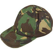 Kids Baseball Hat Camo Army Military R648
