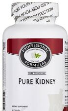 PURE KIDNEY NEW ZEALAND GLANDULAR NATURAL SUPPLEMENTS PROFESSIONAL FORMULAS