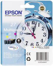 Epson 27 Multipack Cartouches d'encre d'origine (C13T27054012) C/M/J WF-7720DTWF