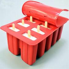 DIY Frozen Ice Cream Maker Mold Mould Juice Popsicle Yogurt Icebox 10 Cell