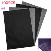 Carta Carbone Carbonio Foglio Copia Ricalco A4 Copiativa 100 Fogli Duplicare