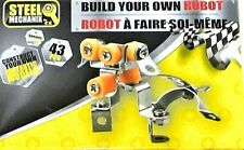 Steel Mechanix STEM Construction Mini Metal Robot - 43 pieces
