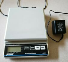 Pelouze Pe5r Digital Postage Scale Tested Works Use Wall Plug Or 9 Volt Battery