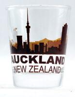 AUCKLAND NEW ZEALAND SUNSET SKYLINE SHOT GLASS SHOTGLASS