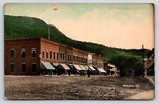 205,830 Main Street, Bristol, Vermont Colored Postcard, Addison County, 1762