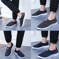 Men's Casual Slip-On Sport Shoes Sneakers Comfortable Footwears Loafers Shoes