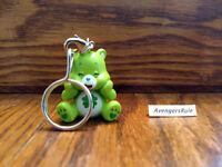 Care Bears Unbearably Cute Vinyl Keychain Series KidRobot Good Luck Bear 2/24