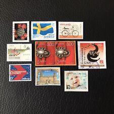 Lot de 10 timbres - Pays divers et années diverses - encore sur frag - F97