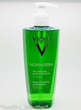 Vichy Normaderm Deep Cleansing Purifying Gel 400ml, for prone skin. New bottle!