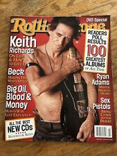 Rolling Stone Magazine Keith Richards October 2002 Rolling Stones Brand New!