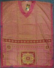 """Gringo Recycled Faux Silk Sari Kaftan 3/4 Length 46"""" Drop (KT4)"""