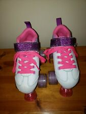 Girls Pacer Comet Lite -Children's / Kids Roller Skates With Light Up Wheels