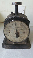 VINTAGE HUGHES  FAMILY NO 48  WEIGHING  SCALES - SALTER- - WORKING CONDITION